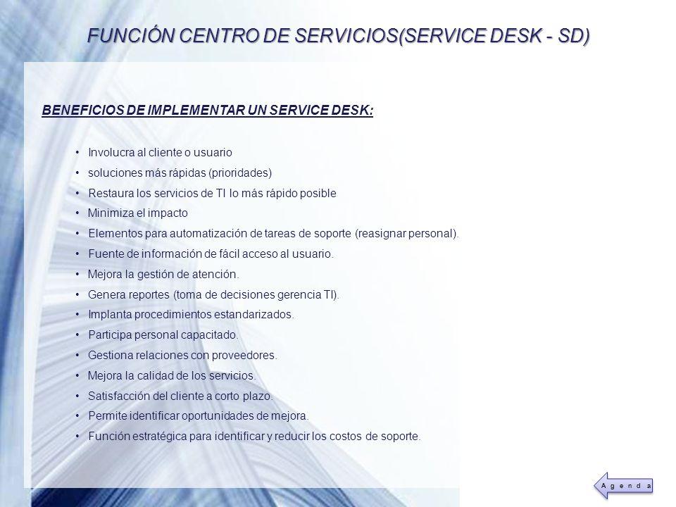 Powerpoint Templates Page 15 BENEFICIOS DE IMPLEMENTAR UN SERVICE DESK: Involucra al cliente o usuario soluciones más rápidas (prioridades) Restaura l
