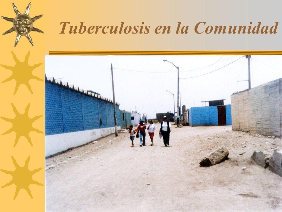 4 Tuberculosis en la Comunidad