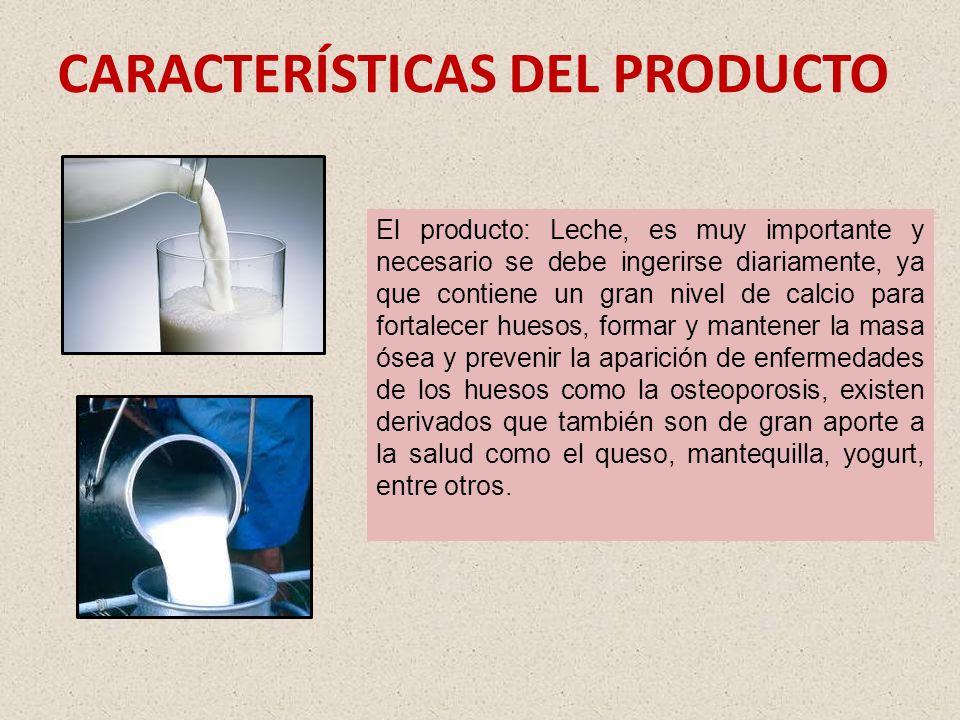 OBJETIVOS Definir la oferta y demanda de leche dentro del mercado de la provincia de Santo Domingo de los Tsáchilas. Conocer el nivel y evolución del