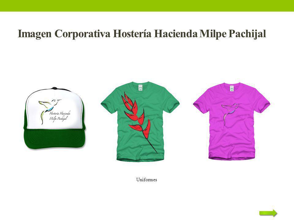 Imagen Corporativa Hostería Hacienda Milpe Pachijal Uniformes