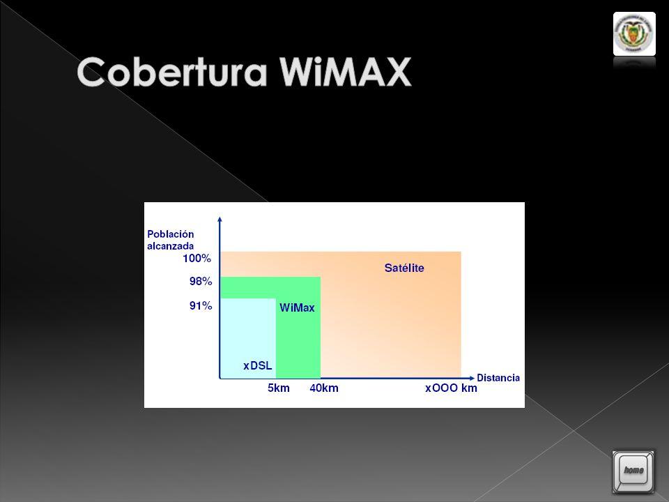WiMAX utiliza LMDS que permite el despliegue de servicios fijos de voz, internet, datos y video bajo demanda.