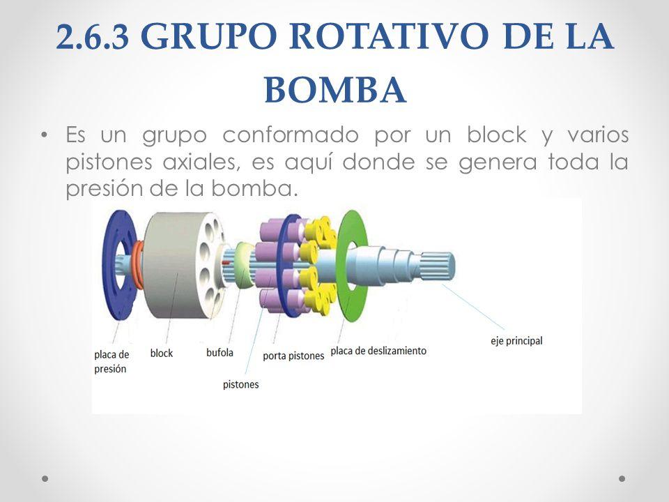 2.6.4 REGULADORES El regulador es un conjunto de válvulas en las que restringen el paso de caudal hidráulico en estos a la ves se puede modificar la presión de salida de la bomba.