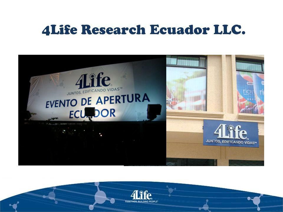 ORGANIGRAMA 4Life Research Ecuador LLC.