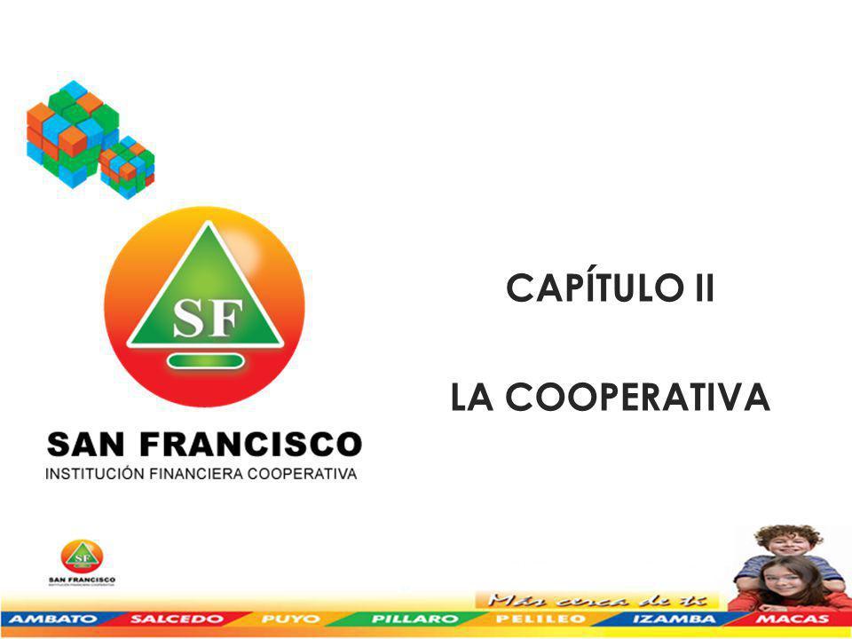 CAPÍTULO II LA COOPERATIVA