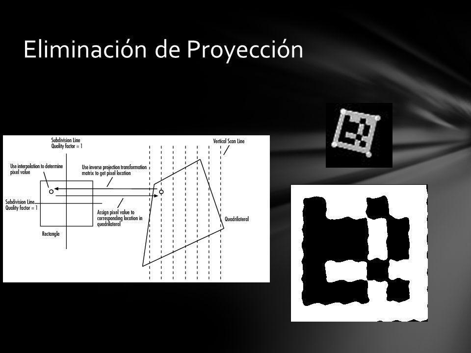 Eliminación de Proyección