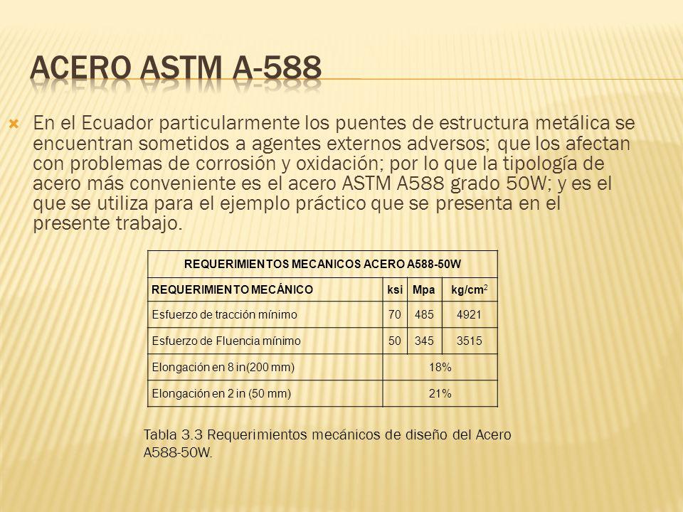 En el Ecuador particularmente los puentes de estructura metálica se encuentran sometidos a agentes externos adversos; que los afectan con problemas de