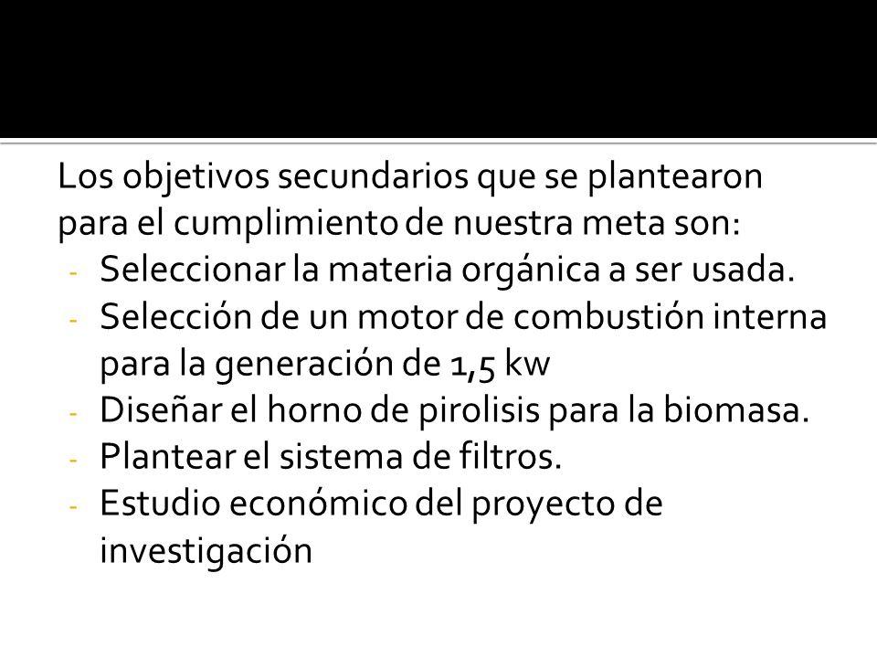 GAS DE SINTESIS (SYNGAS) BIOMASA SELECCIÓN DE BIOMASA PROCESOS PARA EL USO DE BIOMASA