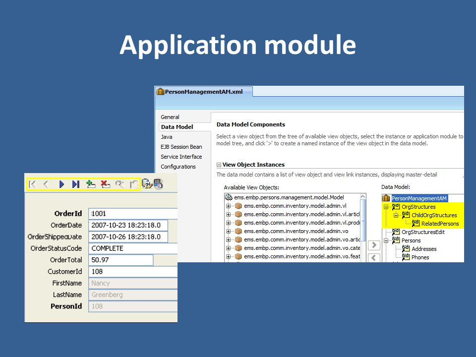 Application module