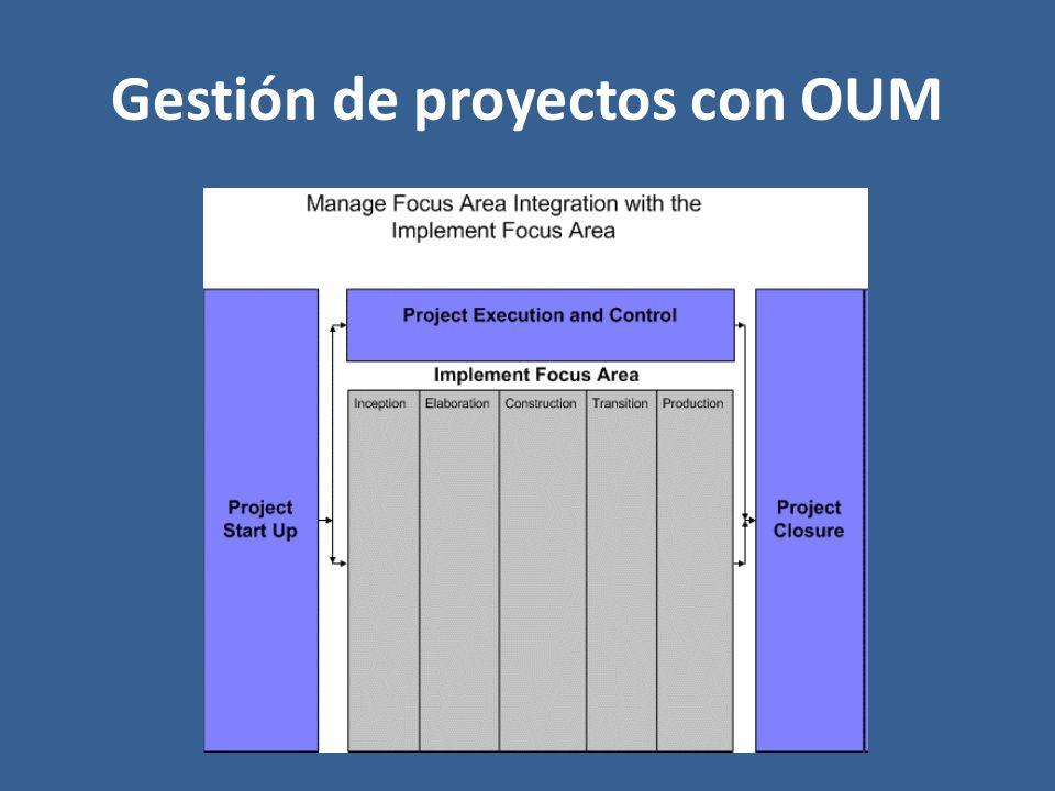 Gestión de proyectos con OUM