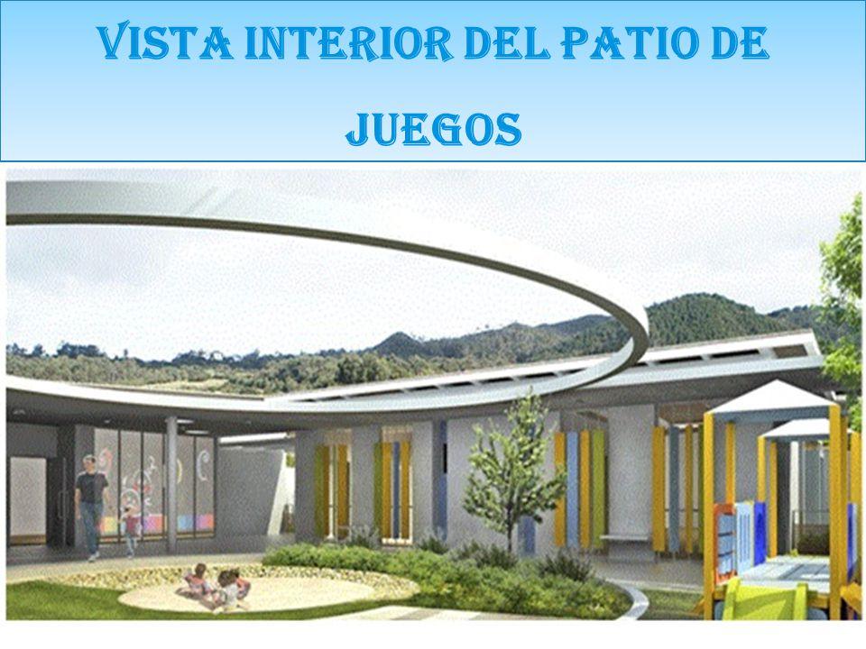 VISTA INTERIOR DEL PATIO DE JUEGOS