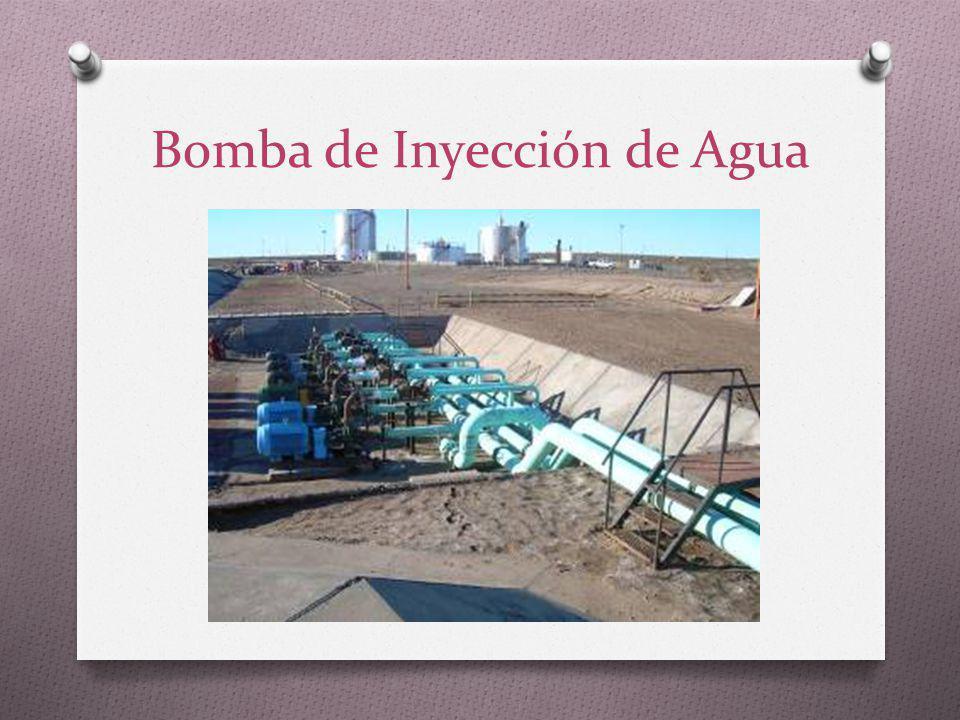 Bomba de Inyección de Agua