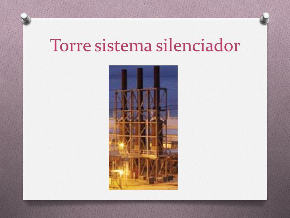 Torre sistema silenciador