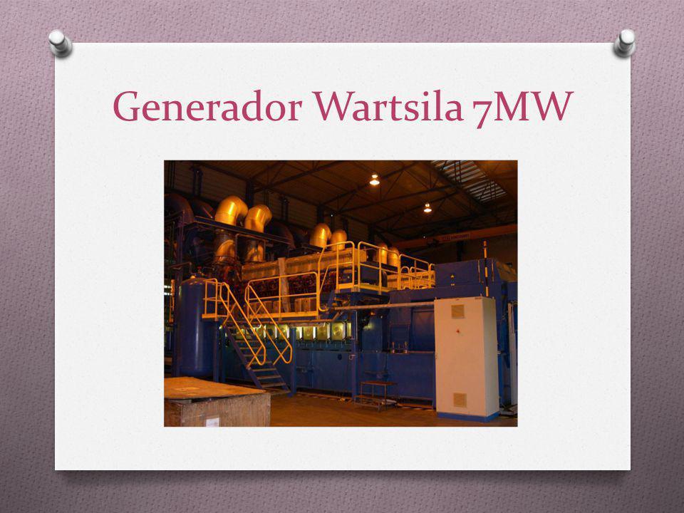 Generador Wartsila 7MW