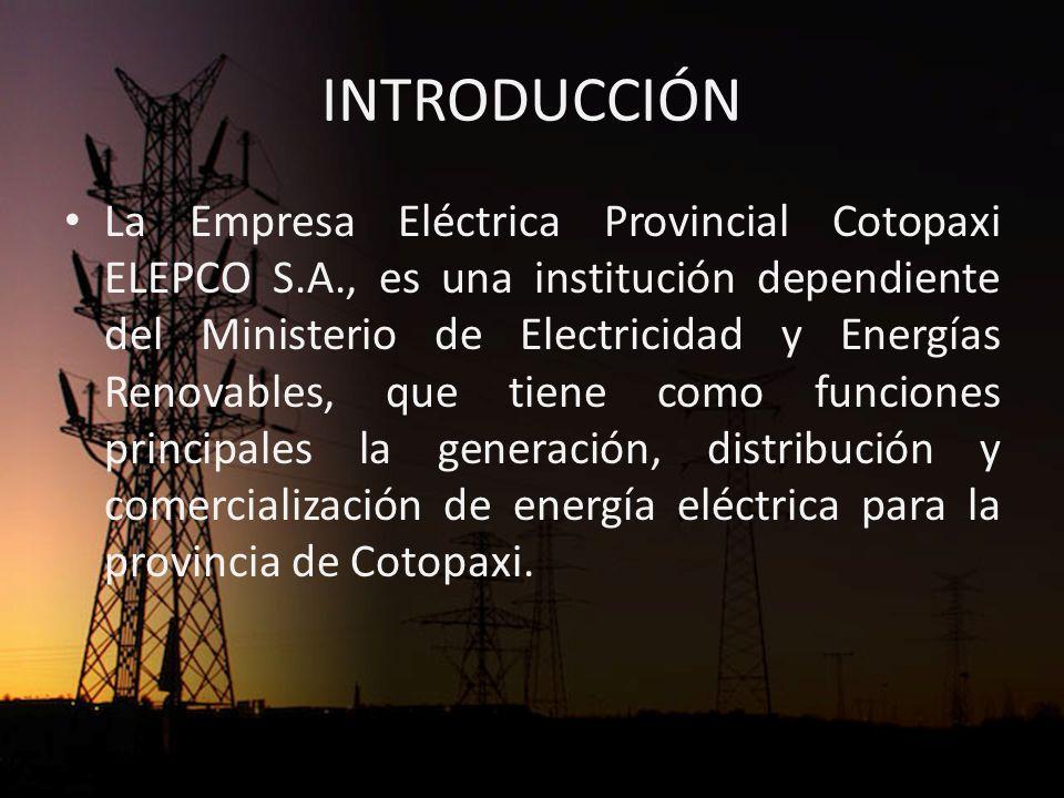 INTRODUCCIÓN ELEPCO S.A.