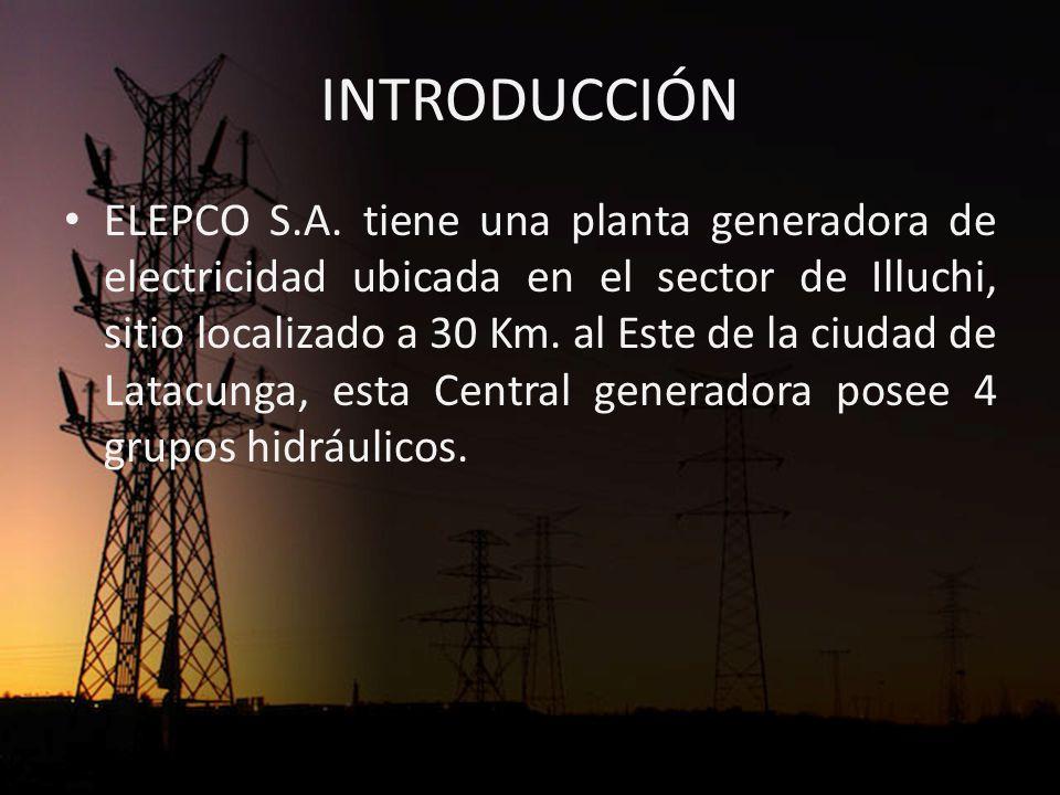 INTRODUCCIÓN La energía generada se dirige al Sistema Interconectado Nacional que está controlado por el CENACE (Centro Nacional de Control de Energía).