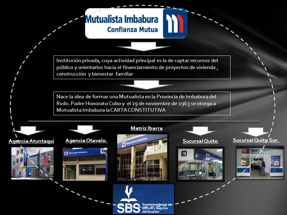 Institución privada, cuya actividad principal es la de captar recursos del público y orientarlos hacia el financiamiento de proyectos de vivienda, con