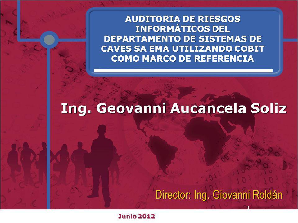 Introducción Objetivos Antecedentes Agenda: 1.Introducción.