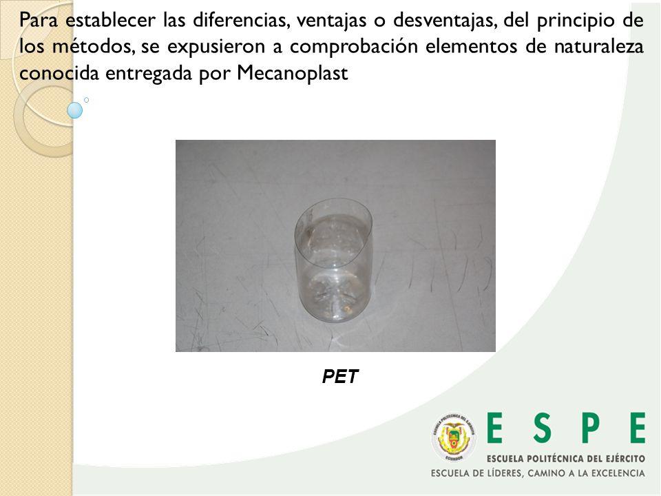 PVC blandoPVC rígido PS cristal PS alto impacto