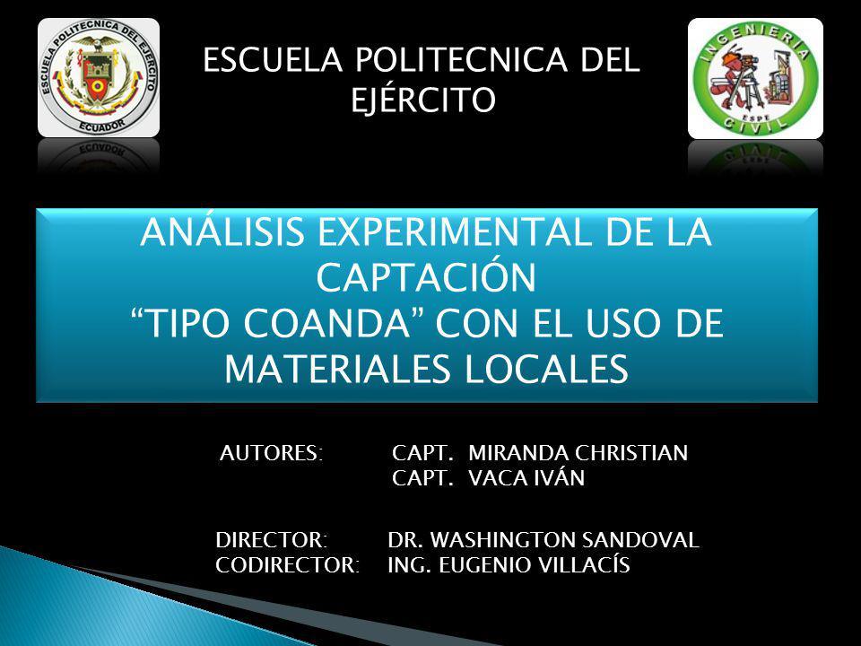 Empleando varillas y alambres de fácil obtención en el mercado ecuatoriano, seleccionamos los siguientes diámetros:
