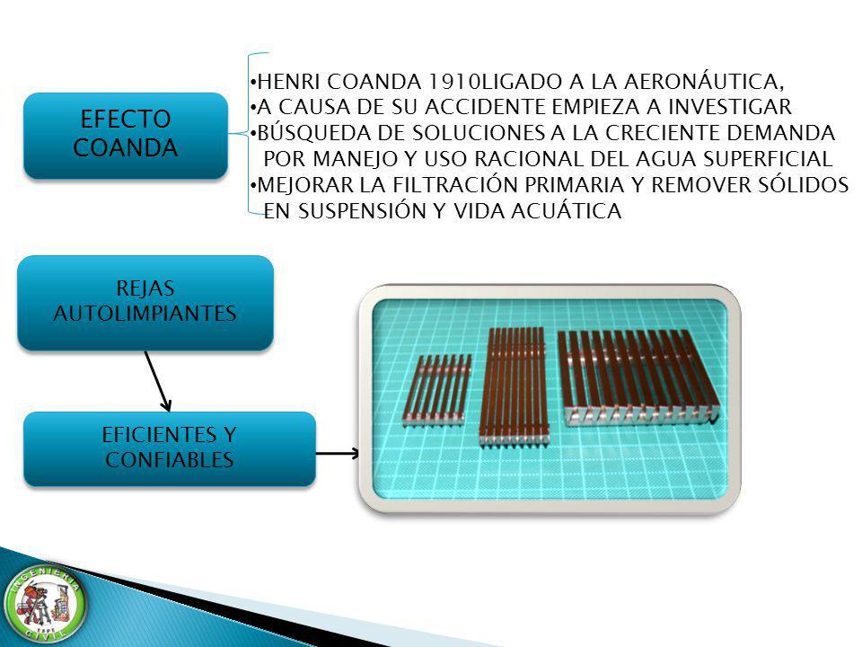OBJETIVO GENERAL OBJETIVO GENERAL INVESTIGAR LAS REJILLAS AUTOFILTRANTES DE LAS CAPTACIONES TIPO COANDA MEDIANTE ESTRUCTURAS DE BARRAS CIRCULARES DE CONSTRUCCIÓN ARTESANAL, PARA DISMINUIR COSTOS DE FABRICACIÓN.