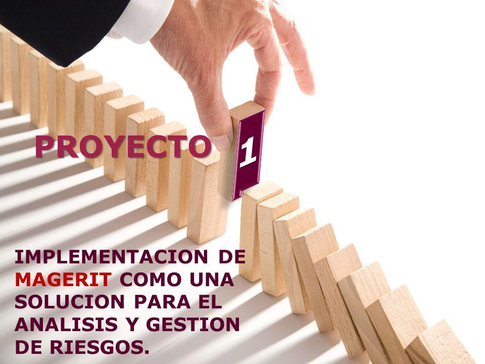 PROYECTO IMPLEMENTACION DE MAGERIT COMO UNA SOLUCION PARA EL ANALISIS Y GESTION DE RIESGOS.