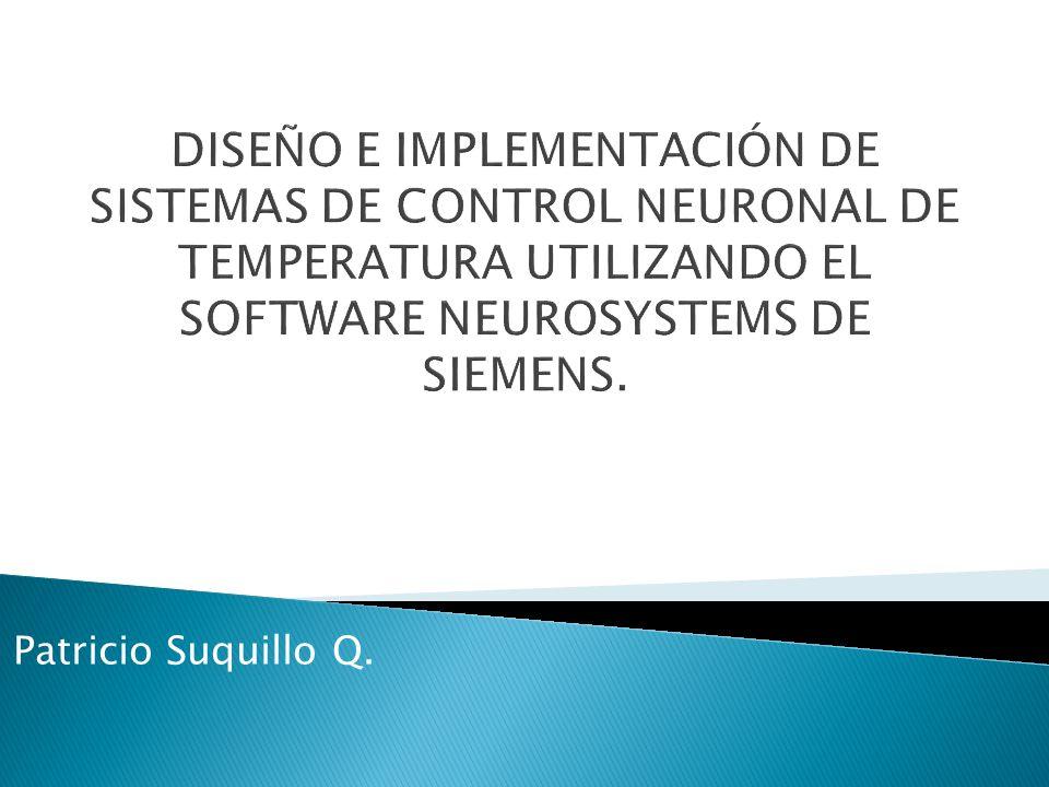 Patrones de entrenamiento La salida de la planta deberá tender a la salida del modelo de referencia.