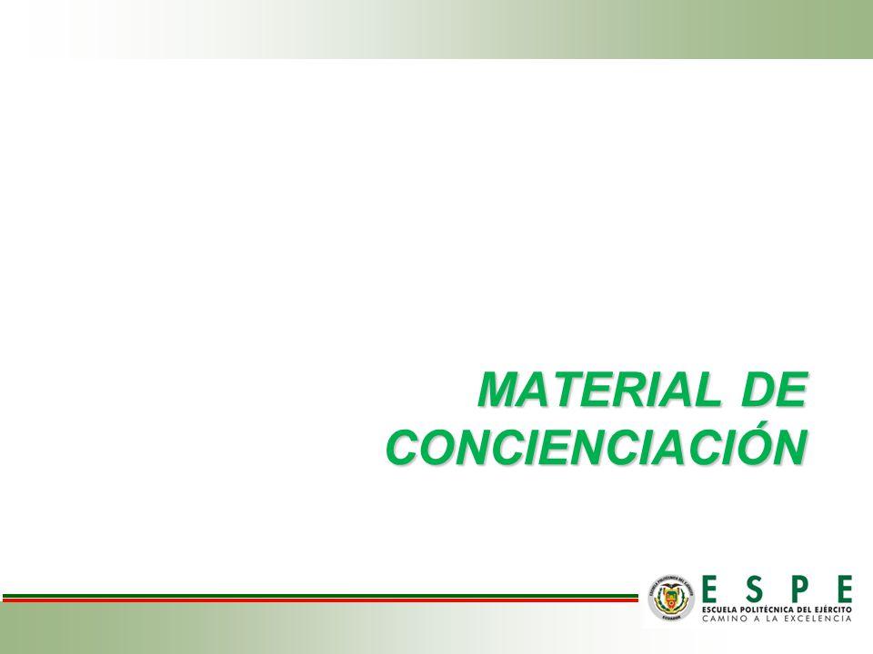 MATERIAL DE CONCIENCIACIÓN
