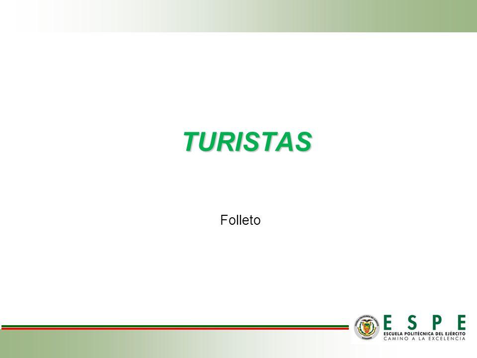 TURISTAS Folleto