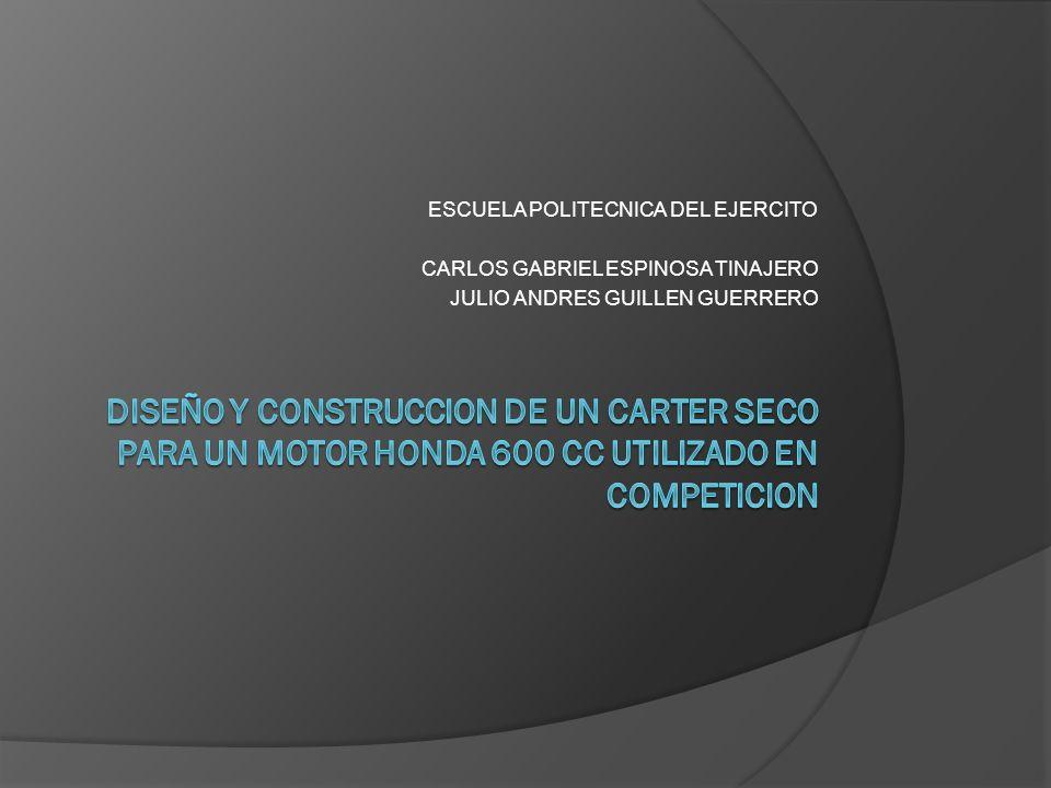 ESCUELA POLITECNICA DEL EJERCITO CARLOS GABRIEL ESPINOSA TINAJERO JULIO ANDRES GUILLEN GUERRERO