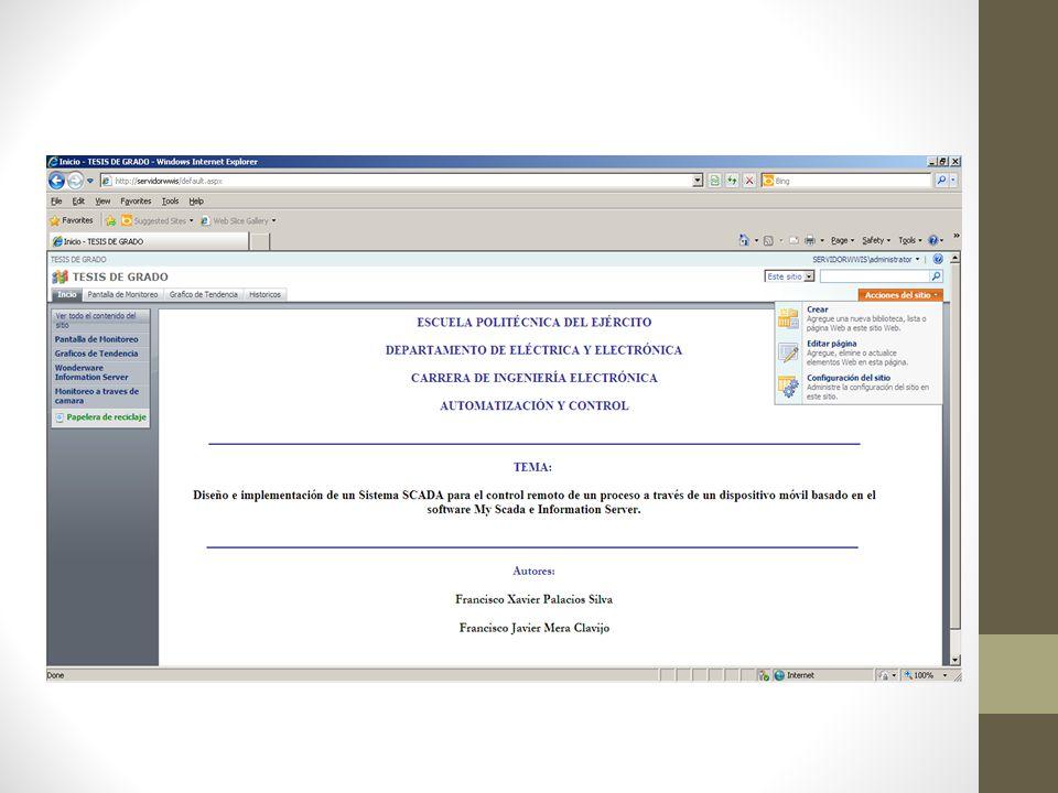 Seguridad Se utilizó la seguridad que nos brinda Windows: Inicio -> Click derecho en Mi-PC -> Administrar
