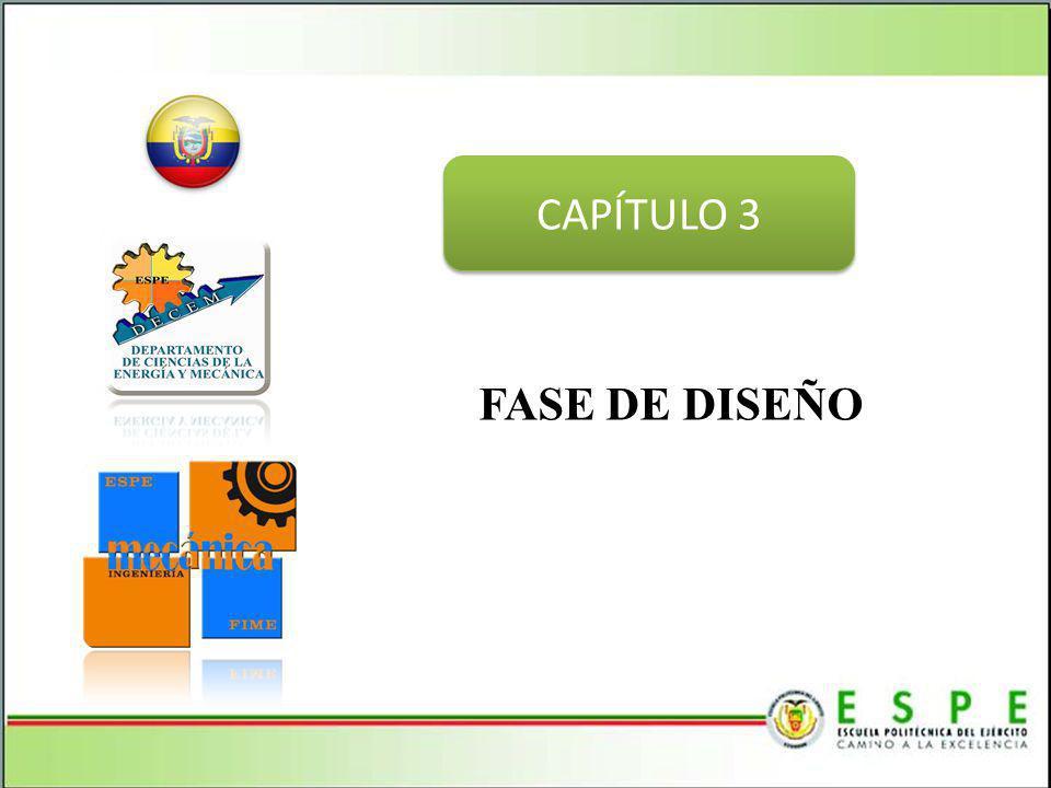 FASE DE DISEÑO CAPÍTULO 3