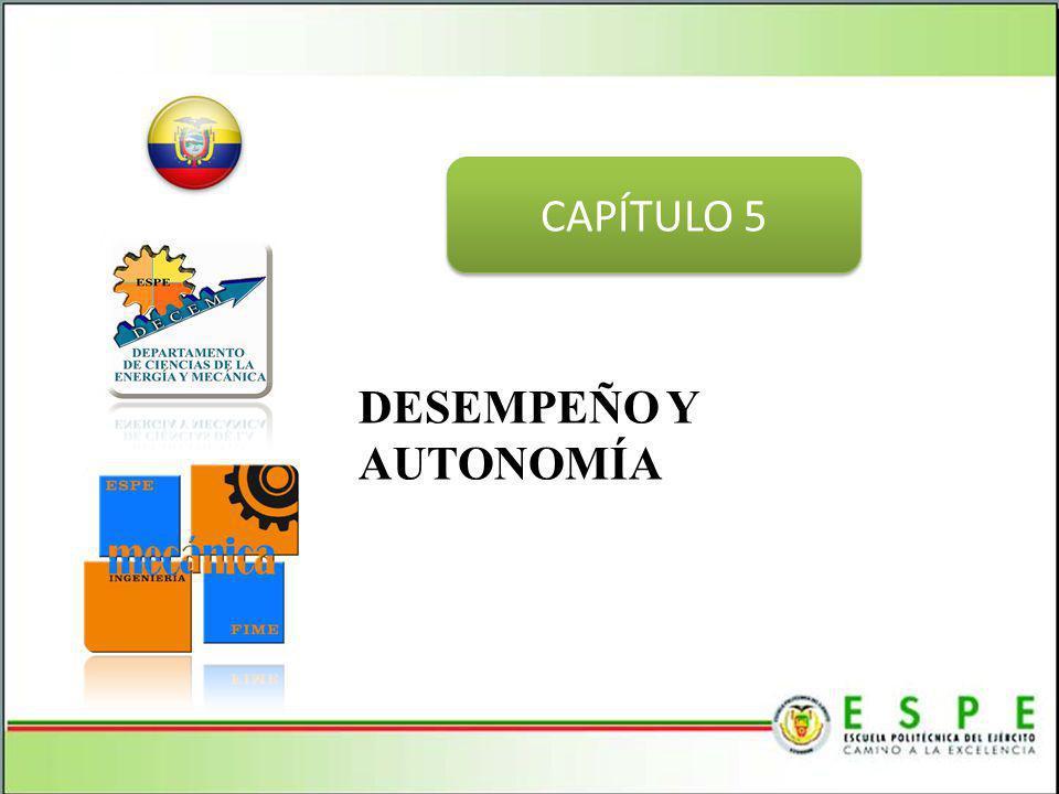 DESEMPEÑO Y AUTONOMÍA CAPÍTULO 5