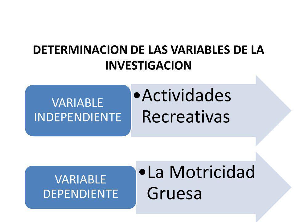 La falta de la aplicación un plan de actividades recreativas no influye en la conservación de la motricidad gruesa en el Adulto Mayor en el grupo del
