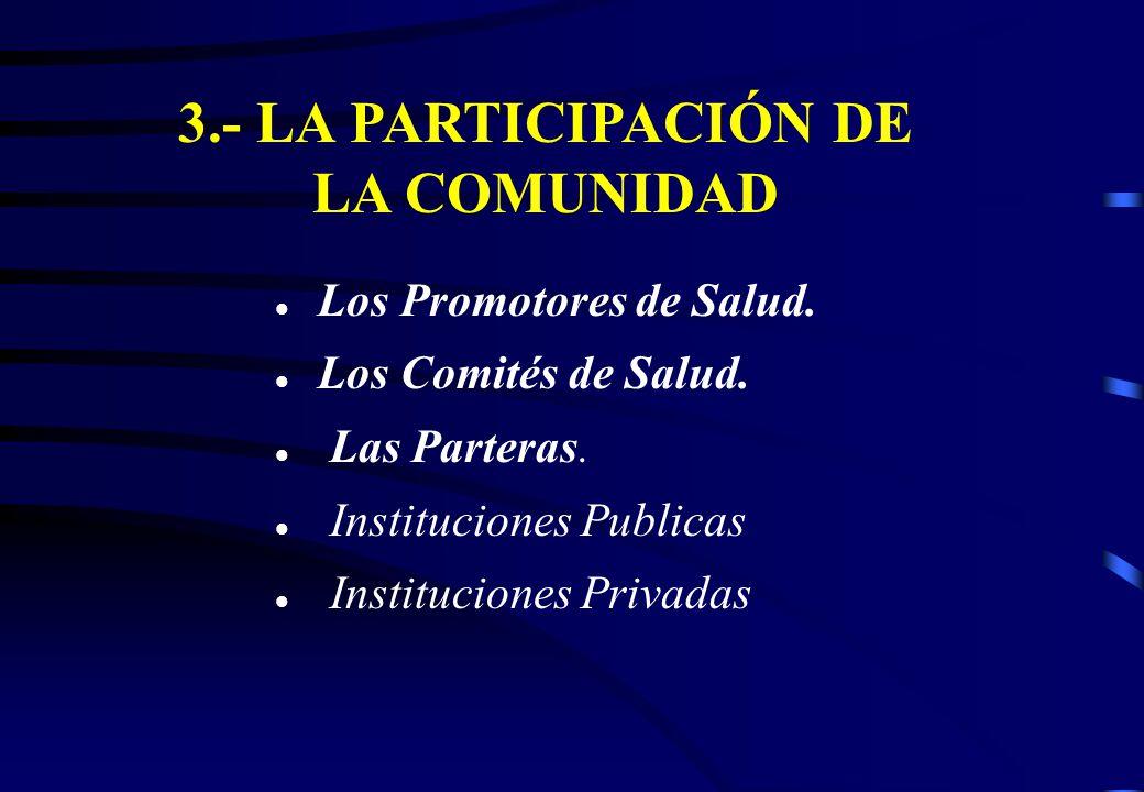 + UN MODELO CON PARTICIPACION DE LA + UN MODELO CON PARTICIPACION DE LA COMUNIDAD