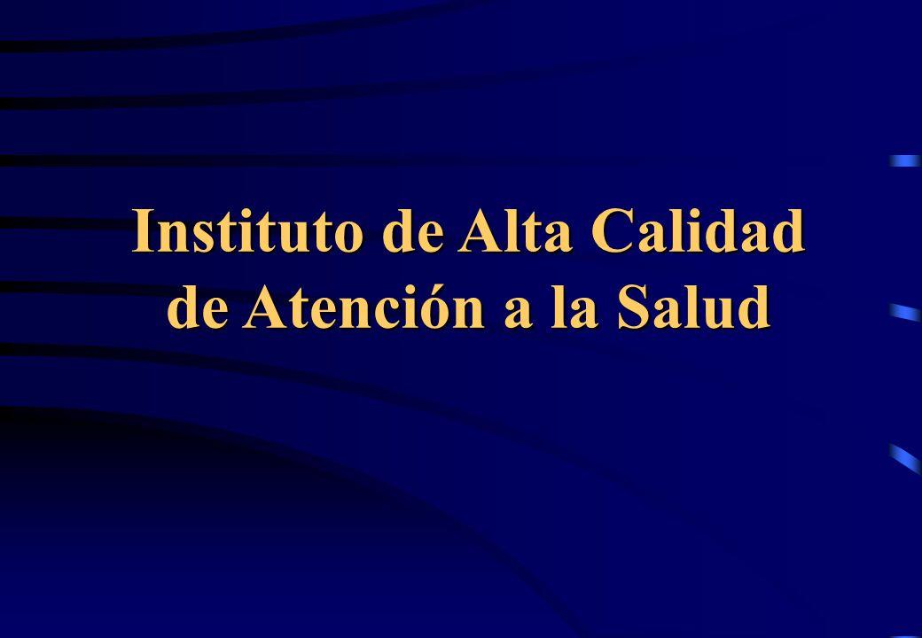 Instituto de Alta Calidad de Atención a la Salud