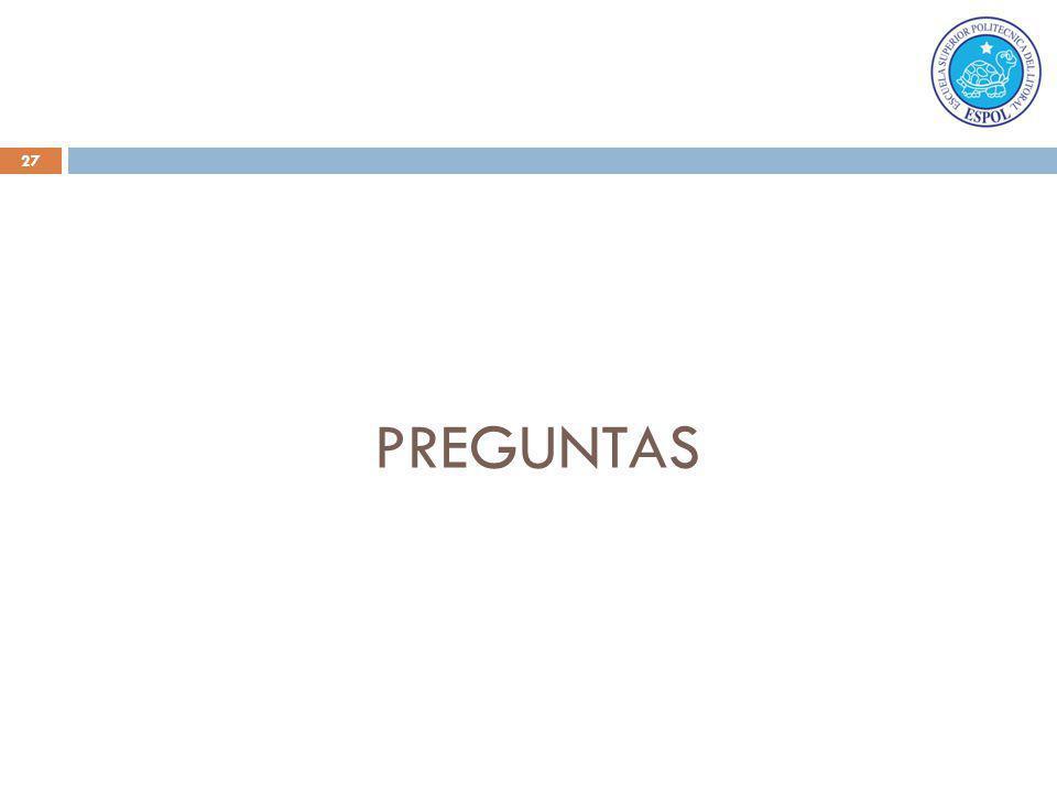 27 PREGUNTAS