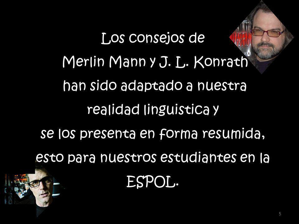 Los consejos de Merlin Mann y J. L.