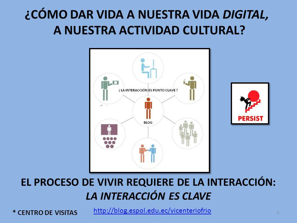* COMENTARIOS UN BLOG CON VIDA PRESENTA: # SORPRESAS ## ENTRETENIMIENTO ### RESPUESTAS ## ALGO QUE LLEVAR # GANCHOS PARA REGRESAR ## INVITACIÓN PARA SEGUIR ## UN ESPACIO DE PARTICIPACIÓN http://blog.espol.edu.ec/vicenteriofrio 17