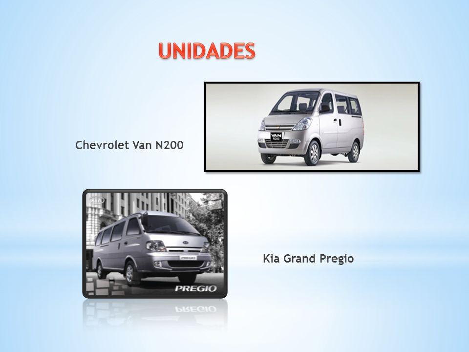 Chevrolet Van N200 Kia Grand Pregio