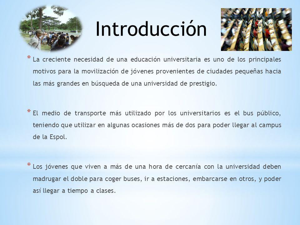 * La creciente necesidad de una educación universitaria es uno de los principales motivos para la movilización de jóvenes provenientes de ciudades peq