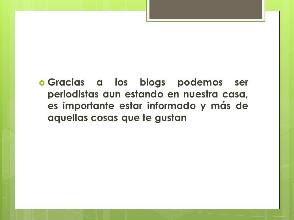 Cuales son Blogs más utilizados.