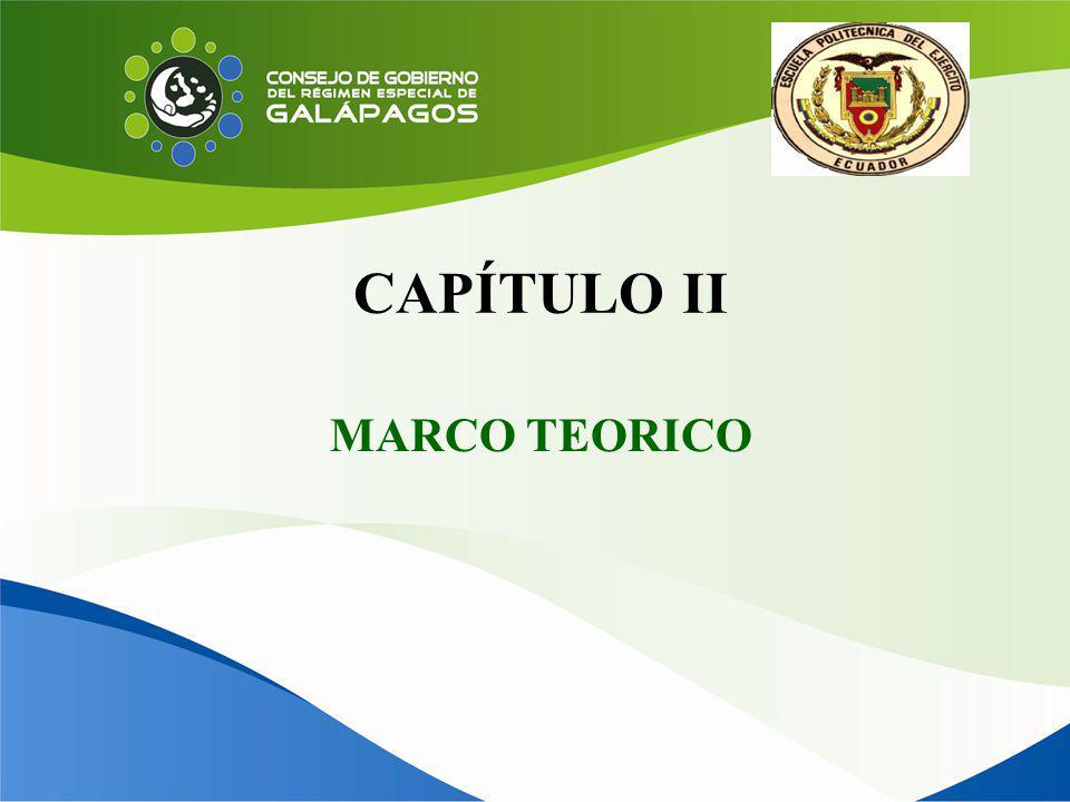 CAPÍTULO II MARCO TEORICO