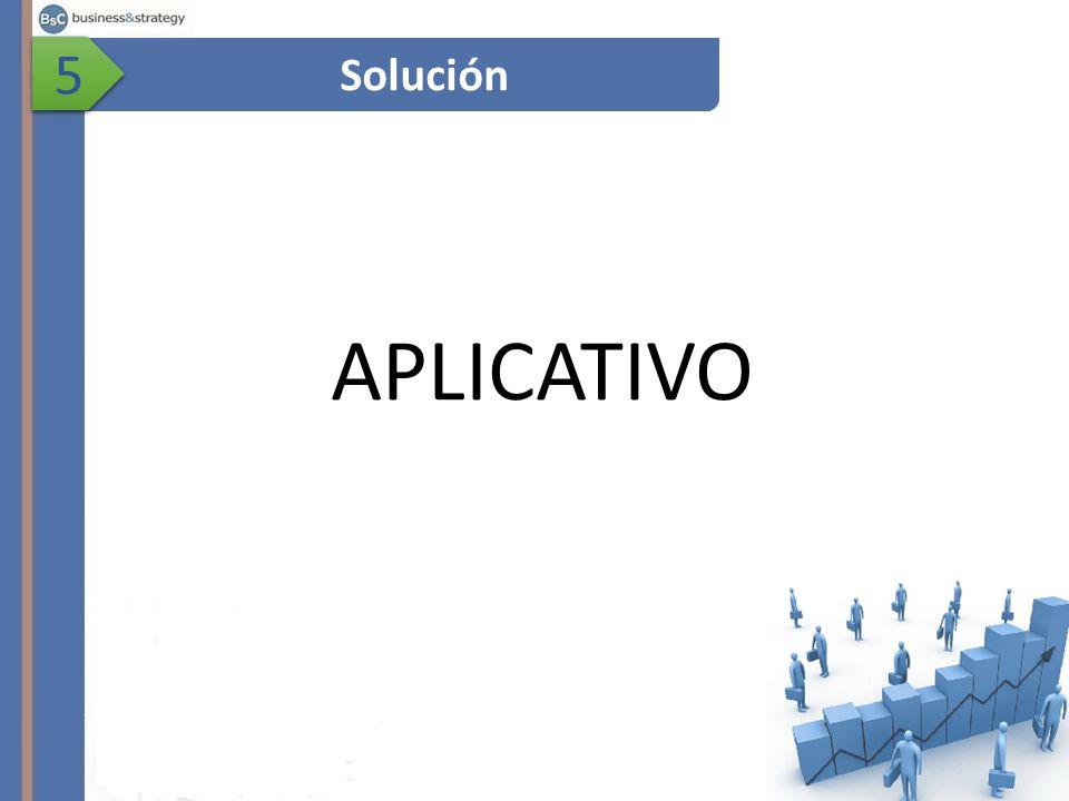 Solución 5 5 APLICATIVO
