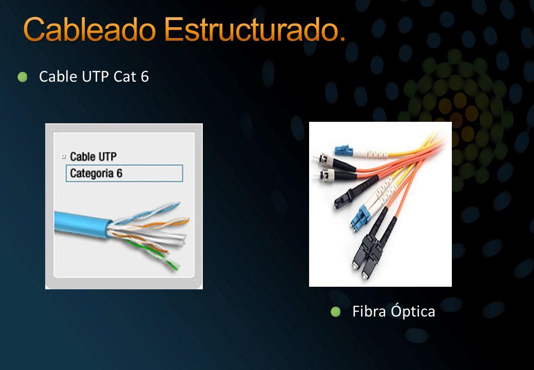 Cable UTP Cat 6 Fibra Óptica