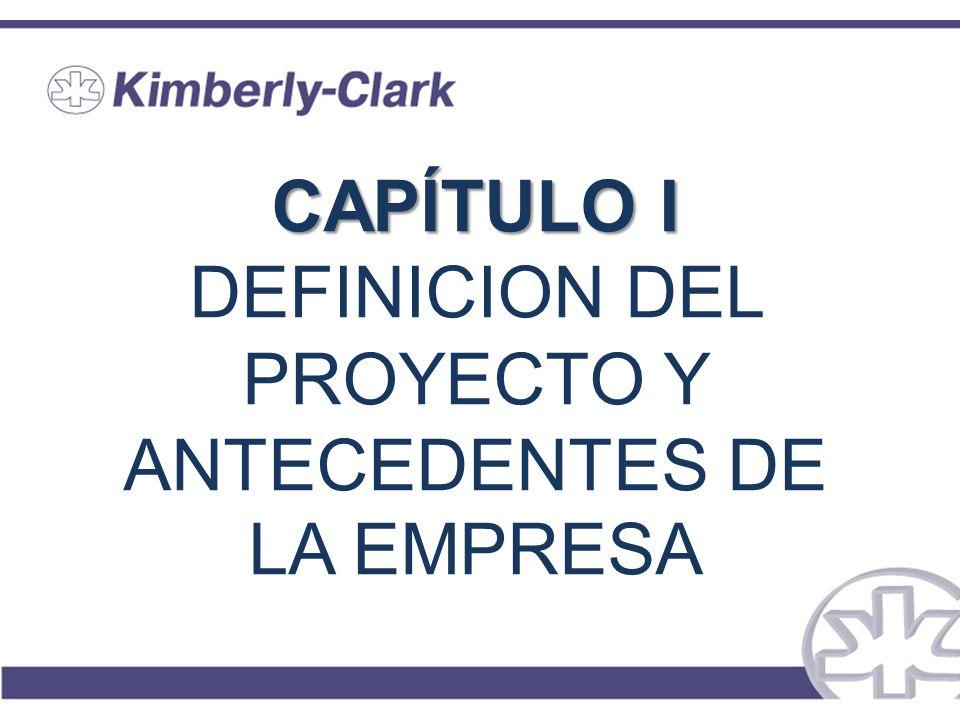CAPÍTULO I CAPÍTULO I DEFINICION DEL PROYECTO Y ANTECEDENTES DE LA EMPRESA