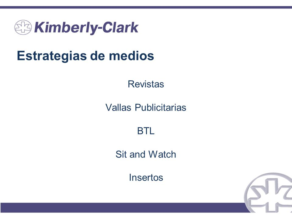 Estrategias de medios Revistas Vallas Publicitarias BTL Sit and Watch Insertos