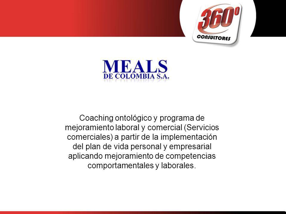 Coaching ontológico y programa de mejoramiento laboral y comercial (Servicios comerciales) a partir de la implementación del plan de vida personal y e