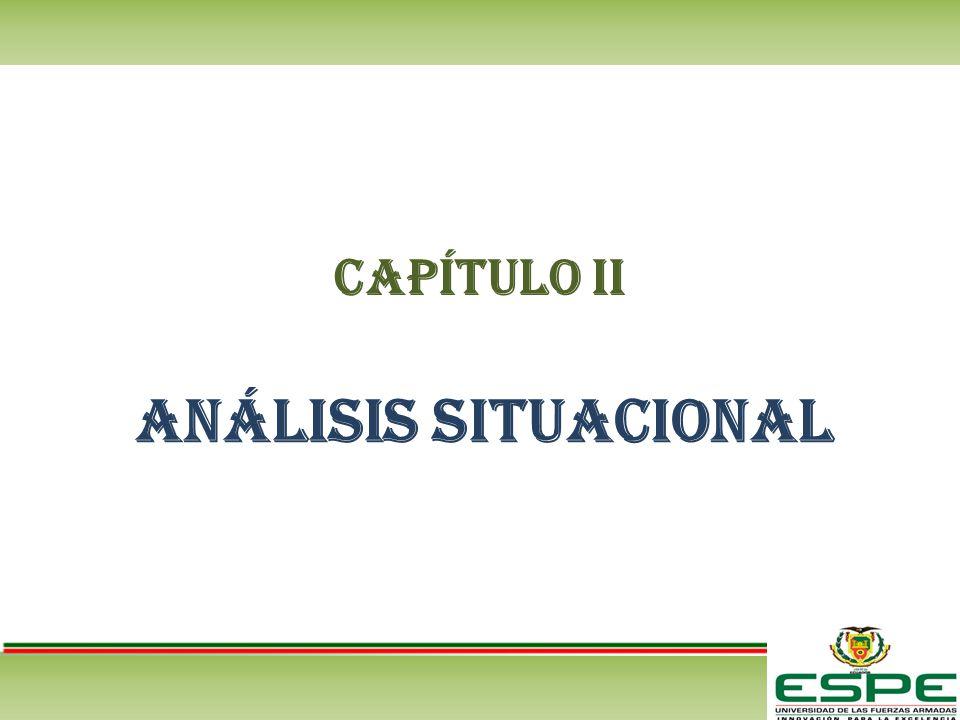 CAPÍTULO II ANÁLISIS INTERNO Proceso Completo de Compras hasta el desembolso de efectivo