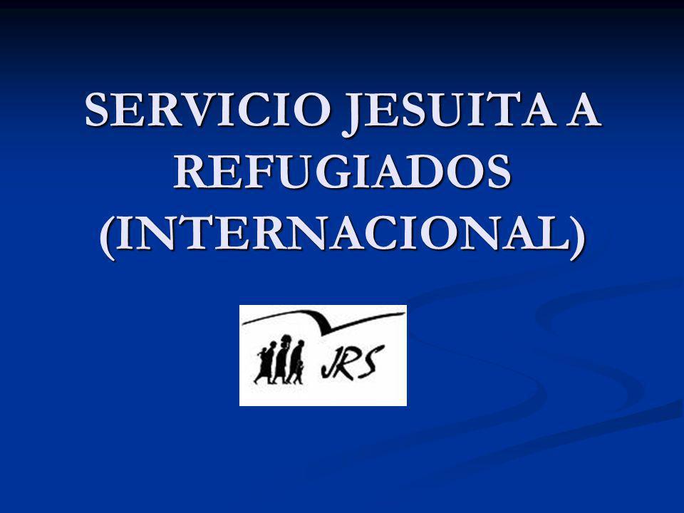 Naturaleza del SJR El Servicio Jesuita a Refugiados (Jesuit Refugee Service, JRS) es una organización católica internacional que trabaja en más de 50 países, con la misión de acompañar, servir y defender los derechos de los refugiados y desplazados forzosos.