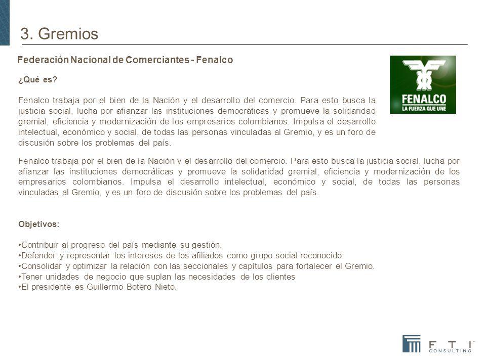 ¿Qué es.Fenalco trabaja por el bien de la Nación y el desarrollo del comercio.